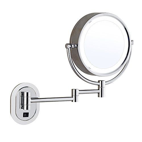 Cheap Gecious 10x Magnification Wall Mount Makeup Mirror With