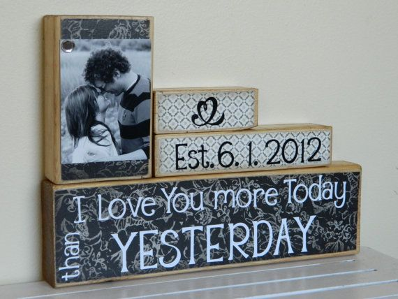 Great Wedding Gift: Best 25+ One Year Anniversary Ideas On Pinterest