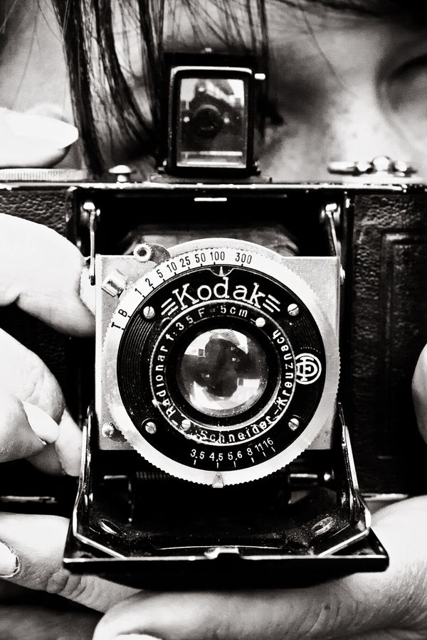 "500px / Photo ""Vintage Camera"" by Iconic by JMR @Julia Kinkela #model"