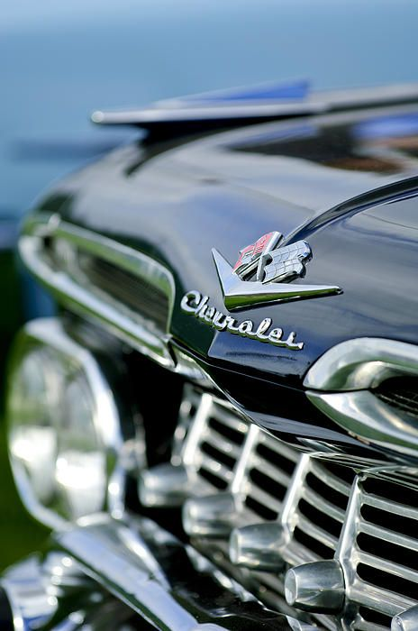 1959 Chevrolet Grille Emblem Photograph by Jill Reger - 1959 Chevrolet Grille Emblem Fine Art Prints and Posters for Sale