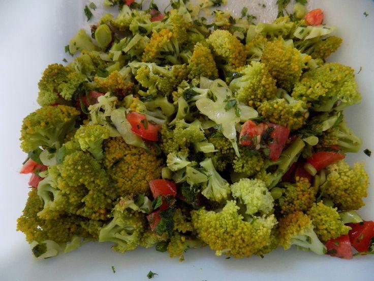 Saladas de Brócolis