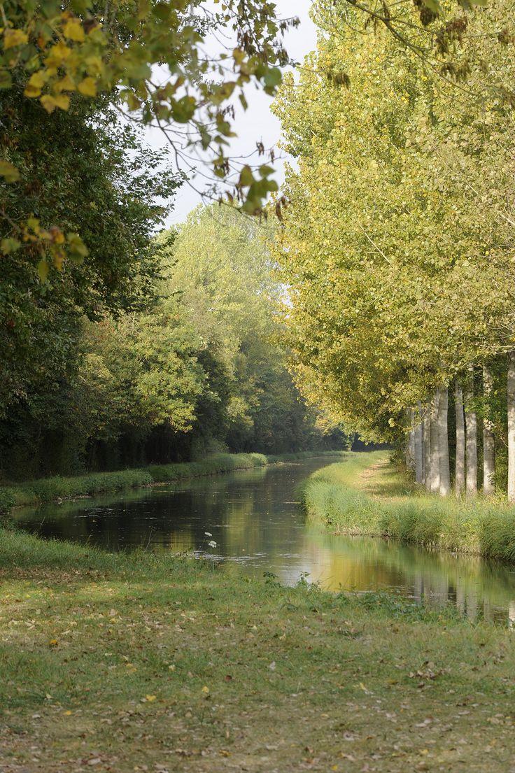 Canal de Berry | Communauté de communes Vierzon Sologne Berry.  Moulin sur le Cher ~ Savonnières, Indre et Loire.