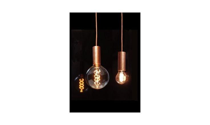 Mr Ralph - NUD copper pendant, Pendants