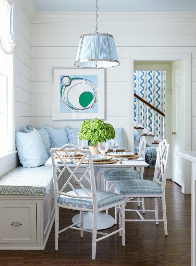 Breakfast Nook - Blue & White