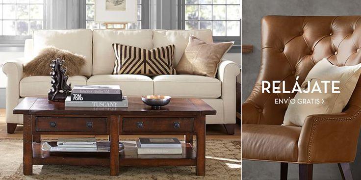 Adquiera muebles con calidad y carácter. Pottery Barn cuenta con muebles elaborados por expertos para su hogar.