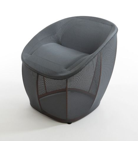 Membrane Lounge Chair By Benjamin Hubert