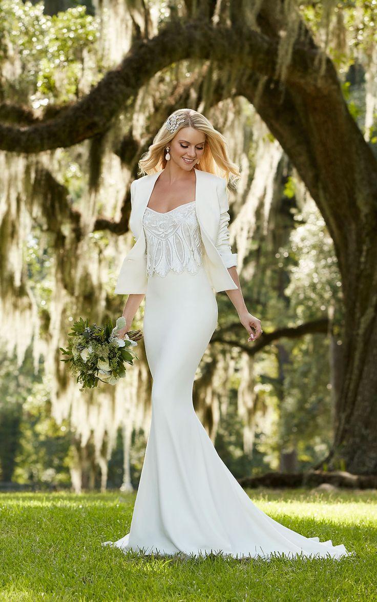 81 best martina liana images on pinterest martina liana wedding separates wedding dress with jacket ombrellifo Image collections