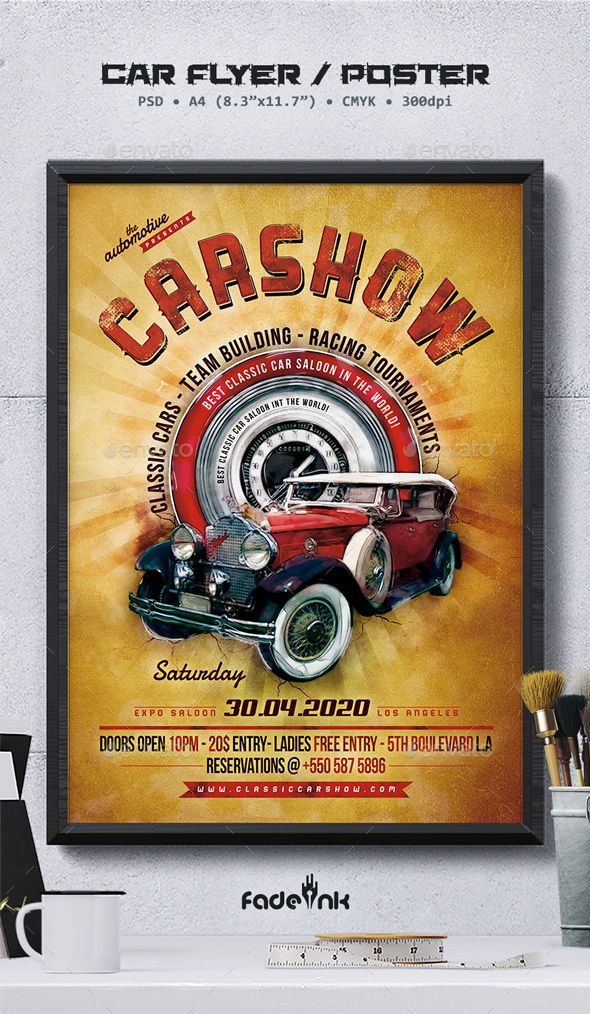 100 Best Car Show Flyers Images On Pinterest Flyers Leaflets And