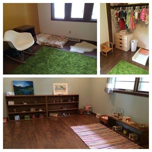 Playroom Workroom Bedroom 1965: 17 Best Images About Montessori Nursery Set Up At Home On