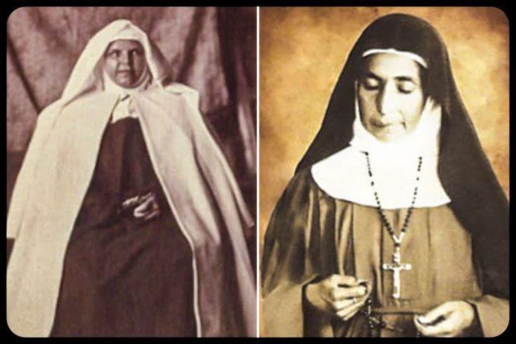Due sante per il popolo palestinese.