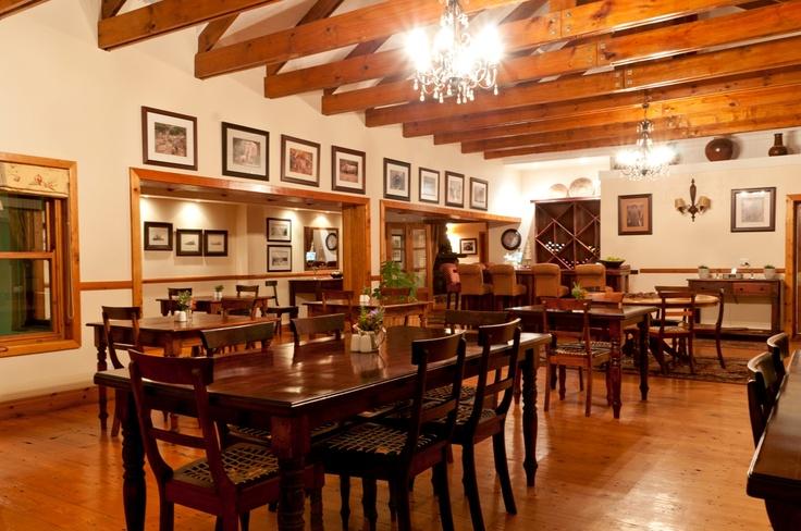 Dining Room with Oregan Pine Fixtures - Dune Ridge Country House, St Francis Bay. www.duneridgestfrancis.co.za