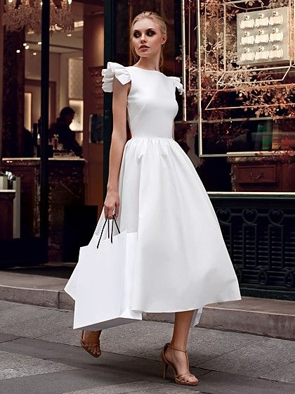 Top 6 vestidos brancos para usar no Reveillon in 2019 | Dresses, Evening dresses, Plain dress