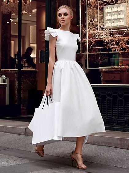 Top 6 vestidos brancos para usar no Reveillon in 2019 | Dresses, Evening dresses, Plain dress