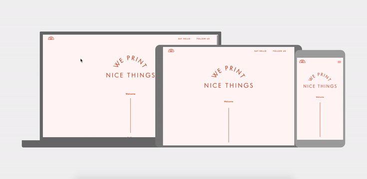 We Print Nice Things on Behance