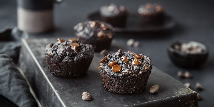 Saftig brownie med sunne ingredienser -