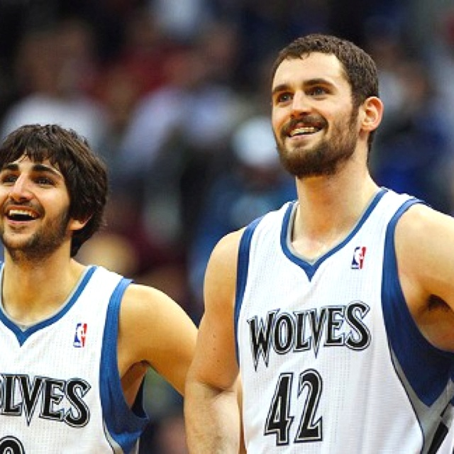 T-wolves Klove and Rrubio
