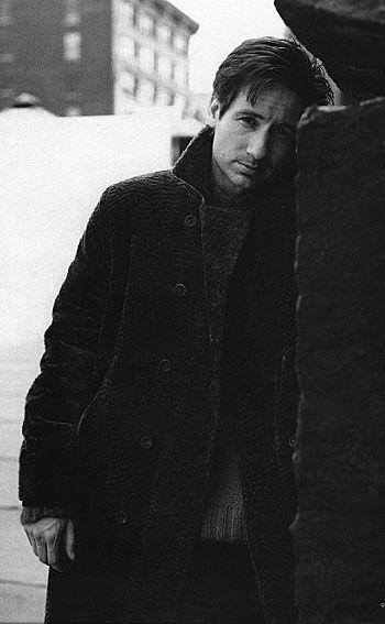 David Duchovny, 1995 Saks Fifth Avenue catalog
