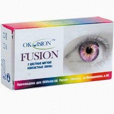 OKVision Fusion – цветные линзы.