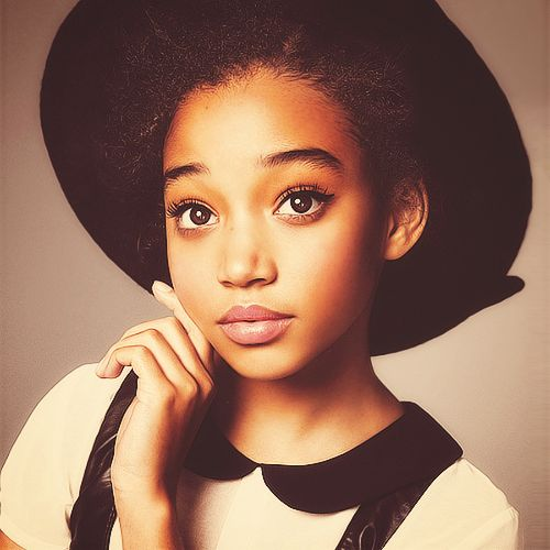 Amandla Stenberg- She is so talented and it's a shame she's only in one Hunger Games movie. She is a beauty and so perfectly herself. I hope to see her in many films in coming years. ❤️❤️❤️