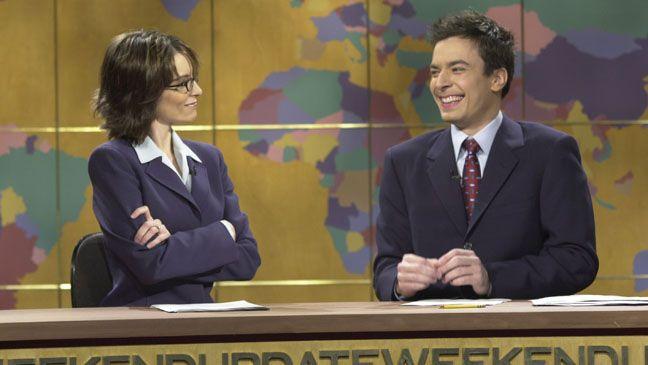 Tina fey and Jimmy fallon -SNL