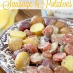 Crock Pot Sausage & Little Potatoes - The Country Cook