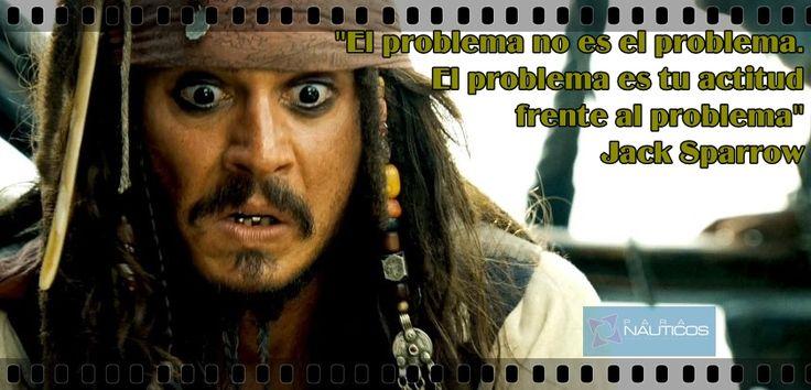 Piratas del Caribe. Capitán Jack Sparrow #frases #movies #sailing ...