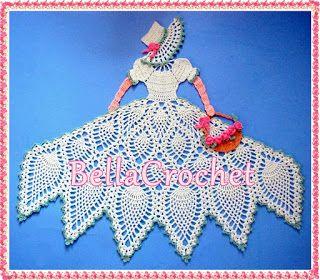 Sweet Southern Belle Crinoline Lady