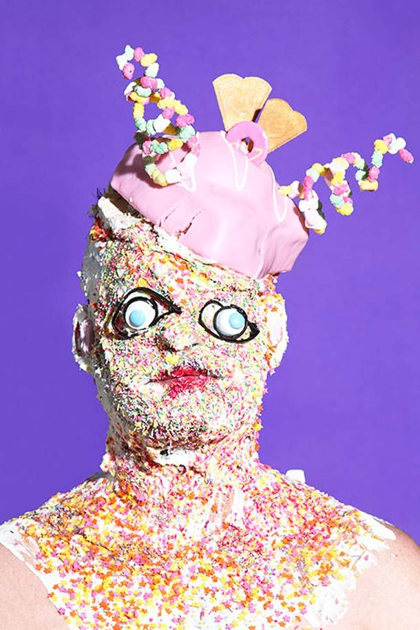 Junk Food – Les étranges portraits de James Ostrer | Ufunk.net