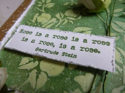 A card for 100 year-old Rose