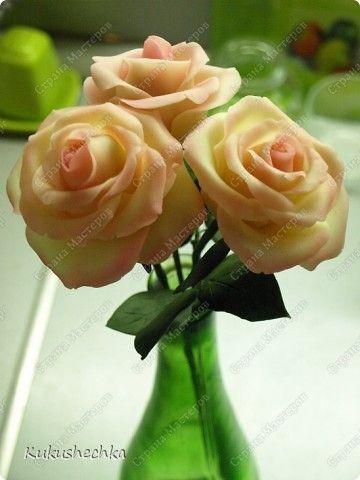 """Цветы из фарфора) Для """"зажигалочки""""))))))))) фото 14"""