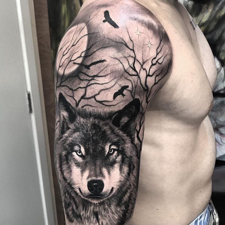 Best 25 Wolf Tattoos Ideas On Pinterest: 555 Best Awesome Wolf Tattoos Images On Pinterest