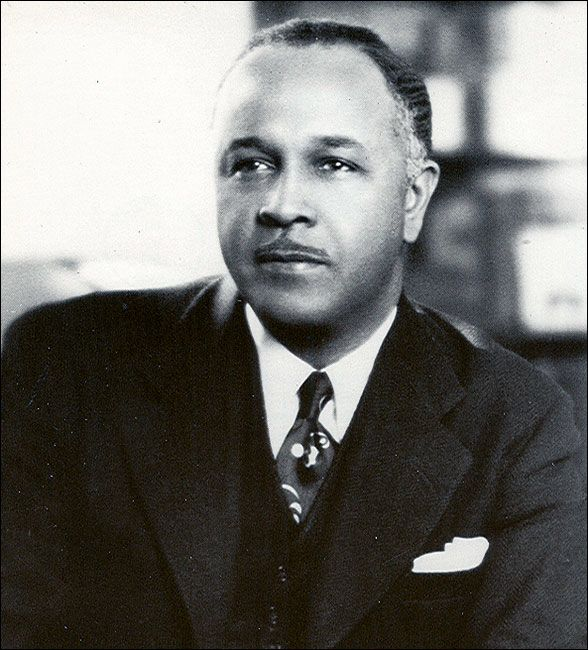 Percy Lavon Julian - Pioneering Chemist - His research led to the chemical synthesis of drugs that treat glaucoma and arthritis.