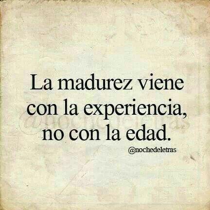 Experiencias..