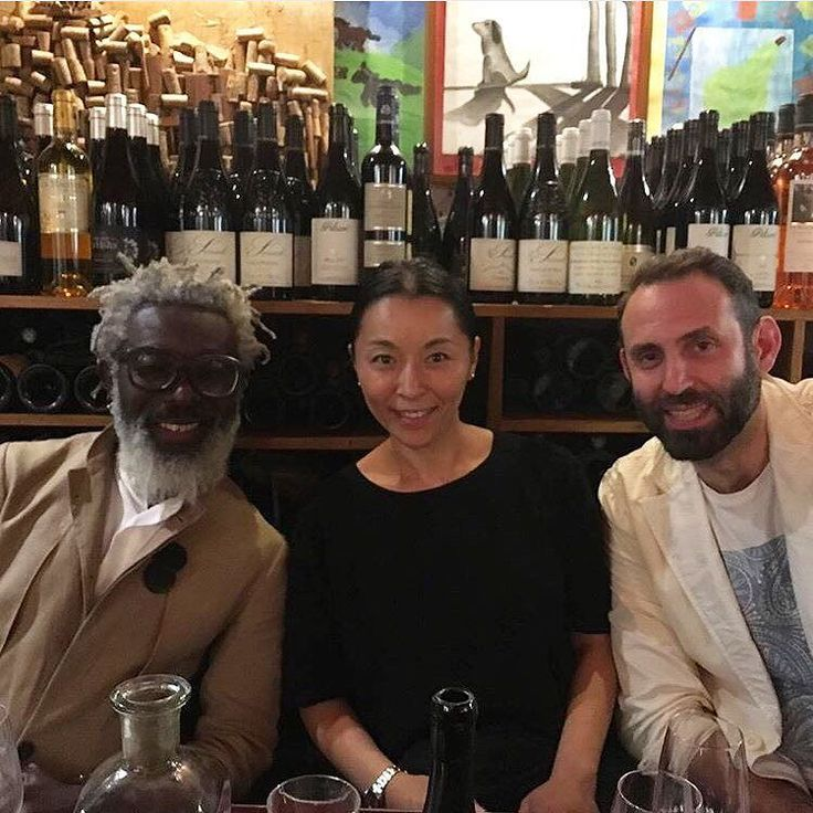 #tbt to that fun dinner in Paris in good company. With Ayako and T-Michael