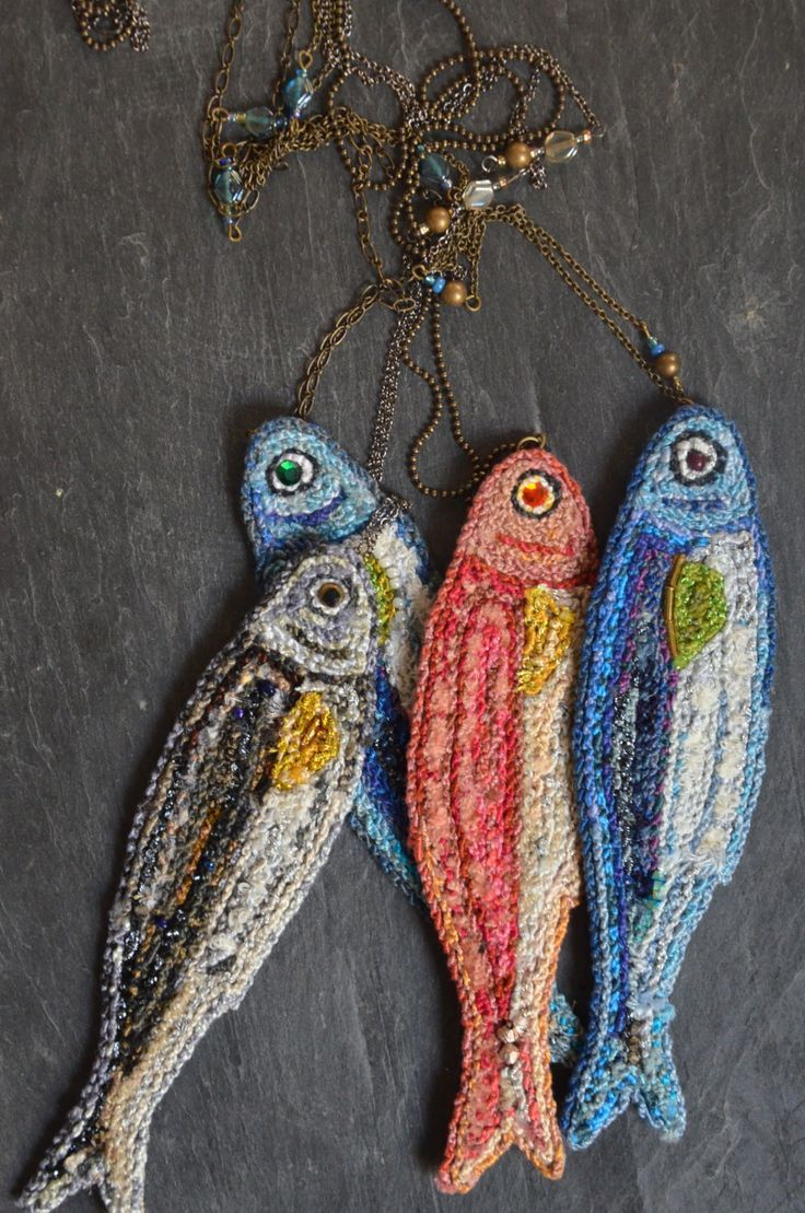 And who wouldn't want an embroidered fish?