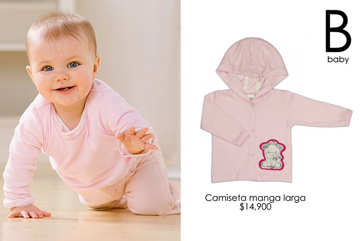 Mumu camiseta manga largo #Baby #fashion #collection #Gico #pink