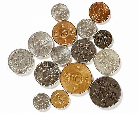 Kan varken lösas in på banken eller hos riksbanken mynten kan ...