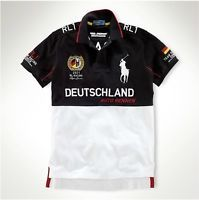 2016 New PO Germany RACING men's short-sleeved cotton casual T-shirt S-XXL