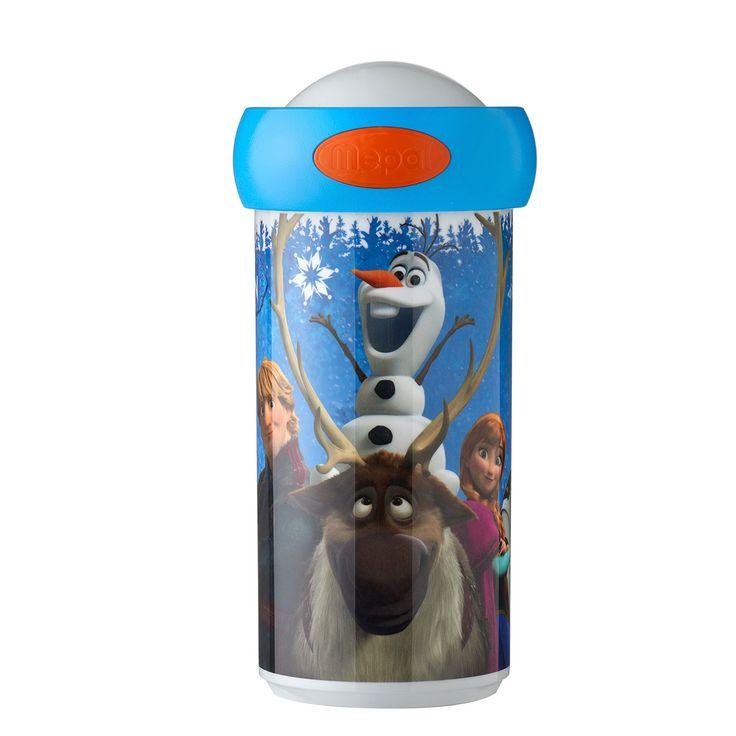 Zoek jij een beker waarmee je gegarandeerd je drinken zonder lekken mee naar school kunt nemen? Kies dan voor de schoolbeker van Rosti Mepal. De speciale afdichtring in de schroefdeksel zorgt voor een hermetische sluiting. Afmeting:Ø 7 x 15 cm - Disney Frozen Campus Schoolbeker