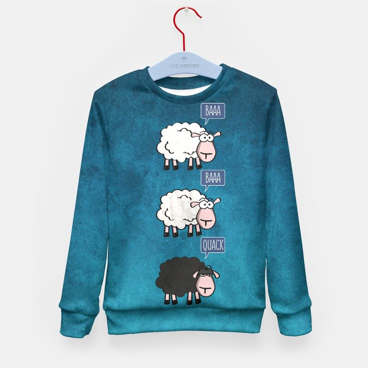 Bored Sheep Kid's Sweater by Sundressed 24.95€