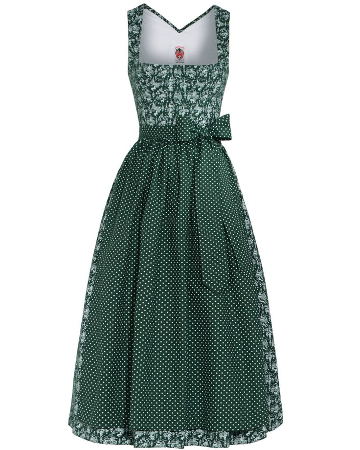 Lanz Dirndl.... love these colors, and I never considered dots before..I like them!