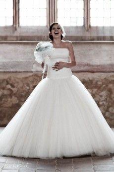 Brautkleid mit Tuell im Duchesse Stil  General  Pinterest