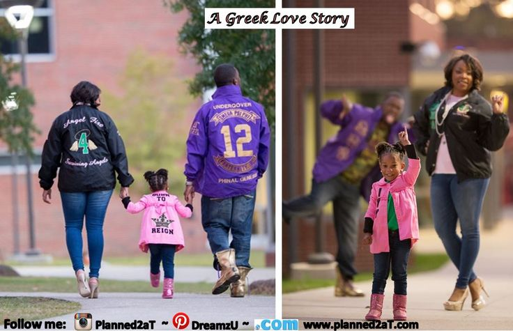 Divine 9 Love Story - Alpha Kappa Alpha Wife, Omega Psi Phi Husband & Beautiful future Ivy!