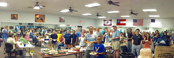 Our fencers and families had a great time at our DFC End of Season Cookout and Friday Night Fights