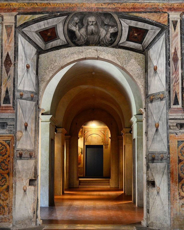 You never know which door will lead you towards your dreams until you have the courage to walk through it.   Santa Giulia Museum Brescia Italy.