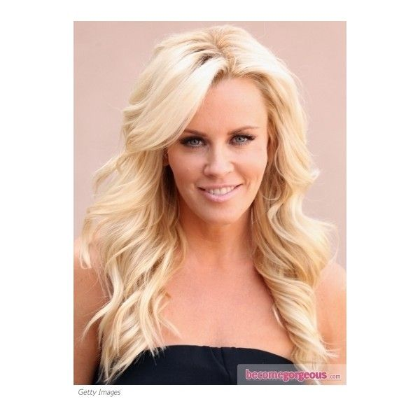 Jenny McCarthy Loose Curls Hairstyle ❤ liked on Polyvore featuring beauty products, haircare, hair styling tools, hair, hairstyles, hair styles, people, beauty and round brush