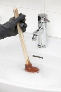 Unclog Bathroom Sink With Plunger   Hair