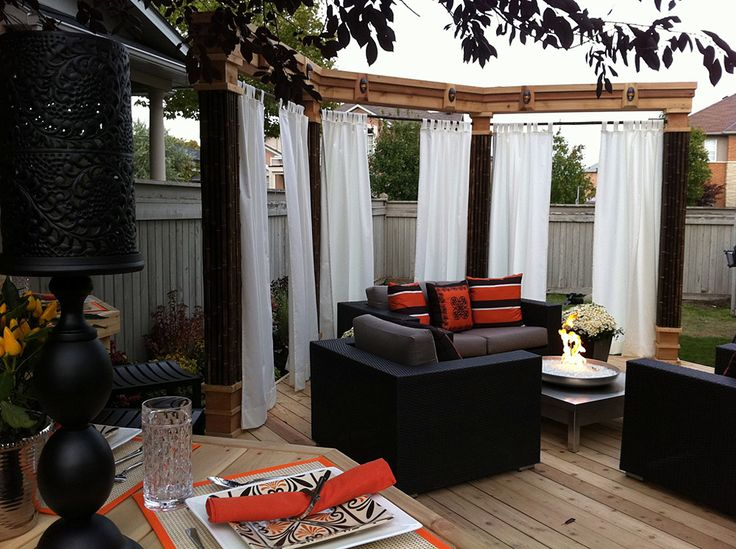 Pool Privacy Curtains 120 best intimité images on pinterest | backyard privacy, privacy