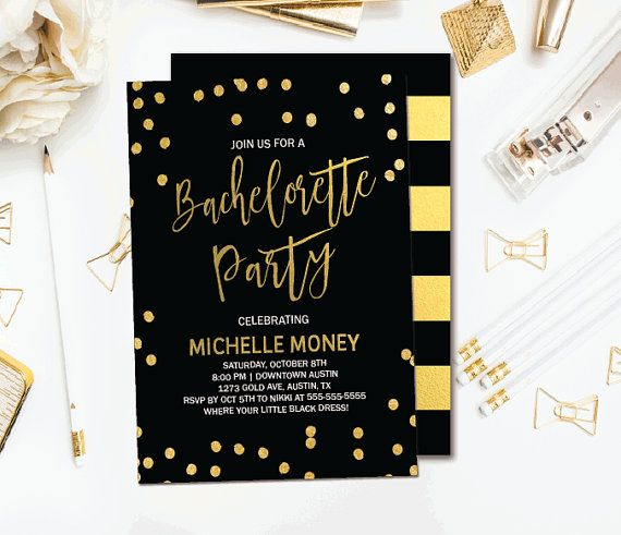 21 best BACHELORETTE INVITATIONS images on Pinterest - bachelorette invitation template