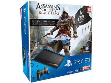 Sony PlayStation 3 500GB AC 4 Bundle